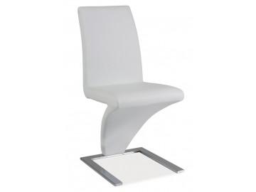 Jídelní čalouněná židle H-010 bílá