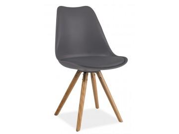 Jídelní židle ERIC šedá