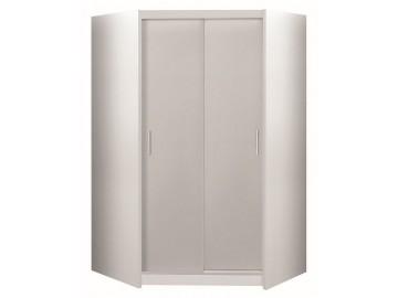 Šatní skříň MALTA rohová bílá