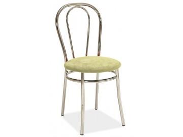 Jídelní čalouněná židle TINA krémová