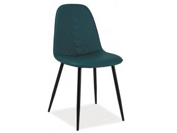 Jídelní čalouněná židle TEO A modrá