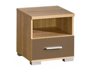 Noční stolek CARMELO C25 mat