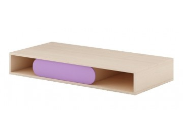 GUSTO G-09 pracovní stůl dub kremona/lavenda