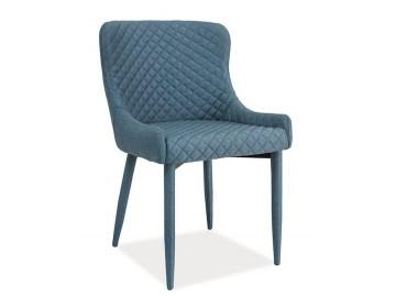 Jídelní čalouněná židle COLIN denim