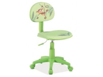 Kancelářská židle HOP 4 zelená