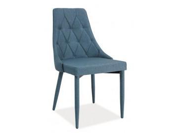 Jídelní čalouněná židle TRIX denim