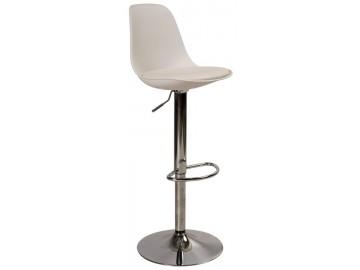 Barová židle C-303 bílá