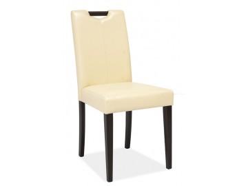 Jídelní čalouněná židle CD-76 wenge/krémová