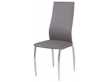 Jídelní čalouněná židle H-801 šedá