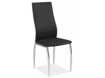 Jídelní čalouněná židle H-801 černá