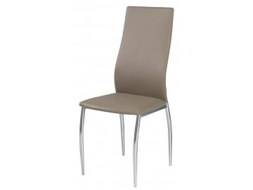 Jídelní čalouněná židle H-801 béžová