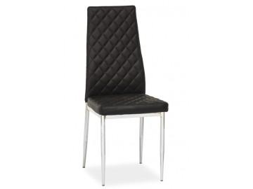 Jídelní čalouněná židle H-262 černá