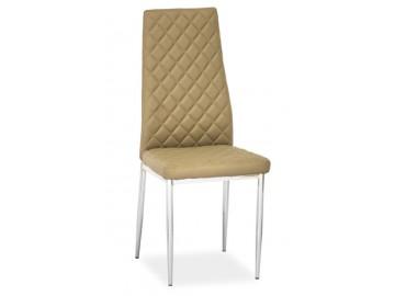 Jídelní čalouněná židle H-262 tmavě béžová