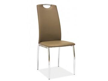 Jídelní čalouněná židle H-622 tmavě béžová