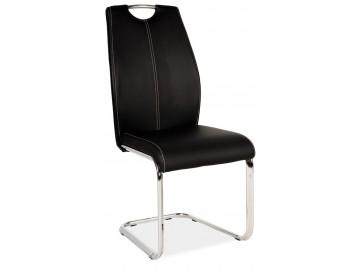 Jídelní čalouněná židle H-664 černá