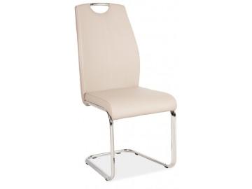 Jídelní čalouněná židle H-664 cappuccino