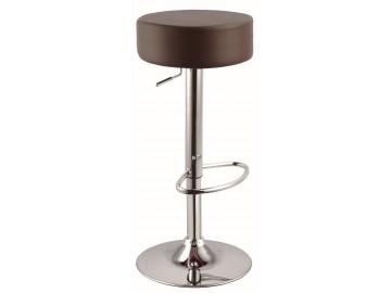 Barová židle KROKUS A-042 tmavě hnědá