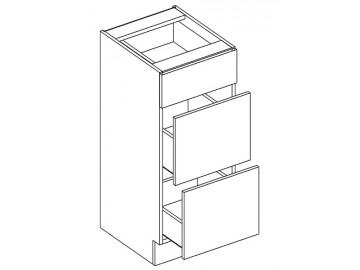 D30/S3 d. skříňka se zásuvkami LENA sonoma