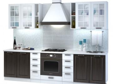 Kuchyně PRAGA 280 bílá/wenge