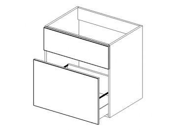 DUM D60S1 skříňka pod umyvadlo výběr barev