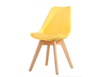Jídelní židle CROSS žlutá