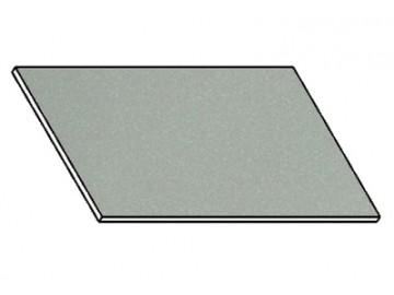 Kuchyňská pracovní deska 100 cm šedý popel (asfalt)