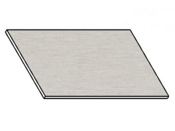 Kuchyňská pracovní deska 90 cm aluminium mat