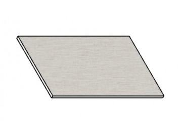 Kuchyňská pracovní deska 60 cm aluminium mat