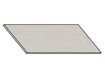 Kuchyňská pracovní deska 160 cm aluminium mat