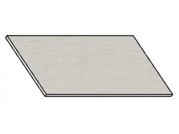 Kuchyňská pracovní deska 120 cm aluminium mat