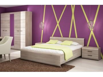 Sestava ložnice LINK son (skříň, postel, 2 noční stolky)