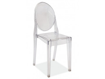 Židle MARTIN transparent