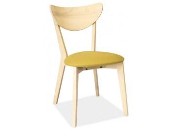 Jídelní čalouněná židle CD-37 zelená