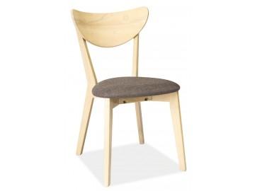 Jídelní čalouněná židle CD-37 šedá