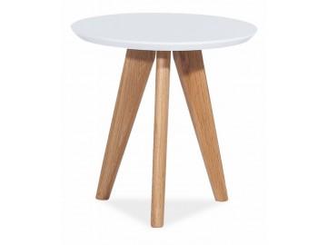 Konferenční stolek MILAN S1 bílý
