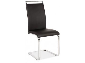 Jídelní čalouněná židle H-334 černá