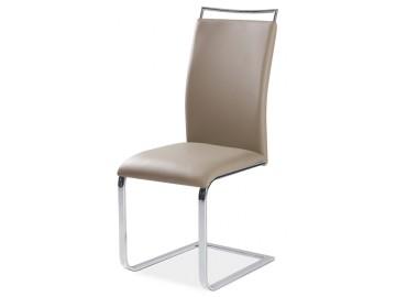 Jídelní čalouněná židle H-334 tmavý béž