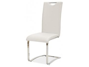 Jídelní čalouněná židle H-790 bílá