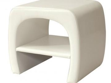 Noční stolek ORLEANS bílý