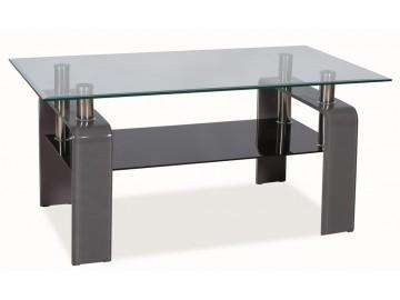 Konferenční stolek STELLA - šedý