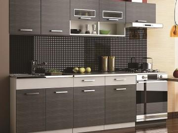 Kuchyně MORENO II 240 grafit bis