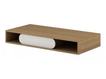 GUSTO G-09 pracovní stůl dub nova/bílá