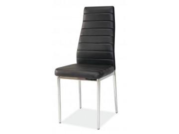 Jídelní čalouněná židle H-261 černá