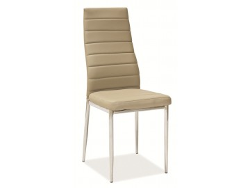 Jídelní čalouněná židle H-261 tm. béžová