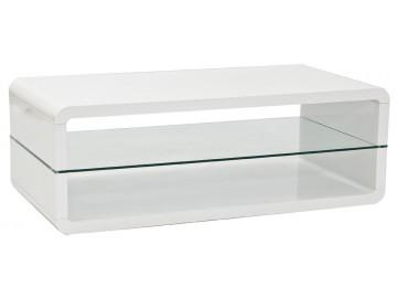 Konferenční stolek TAMPA bílá