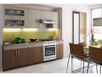 Kuchyně BIANCA 240 s výklopem