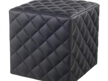 Taburet KROKUS C-909 černá