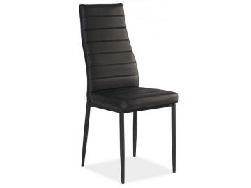 Jídelní čalouněná židle H-261C černá