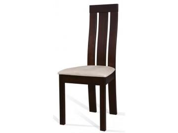 Jídelní čalouněná židle C-27 wenge