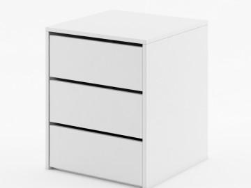 Kontejner do skříně IDEA ID-13 bílý
